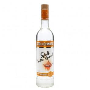 Stolichnaya - Stoli Salted Karamel 750ml | Caramel Russian Vodka