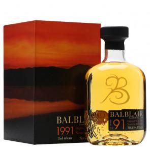 Balblair Vintage 1991 Highland Single Malt | Whisky Manila Philippines