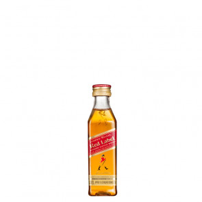 Johnnie Walker Red Label - 50ml Miniature | Blended Scotch Whisky