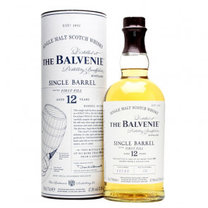 Balvenie 12 Year Old Single Barrel 70cl | Single Malt Scotch Whisky | Philippines Manila Whisky
