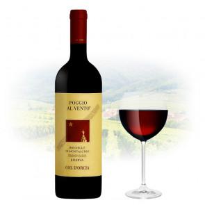 """Col d'Orcia - """"Poggio Al Vento"""" Brunello di Montalcino Riserva   Italian Red Wine"""