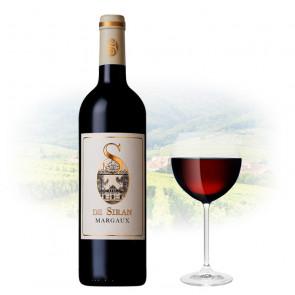 Château Siran - S de Siran Margaux   French Red Wine