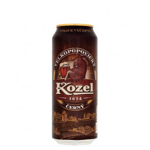 Kozel Černý Dark - 500ml (Can) | Czech Beer