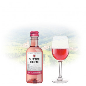 Sutter Home - White Zinfandel - 187ml Miniature | Californian Pink Wine