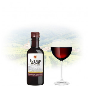 Sutter Home - Cabernet Sauvignon - 187ml Miniature | Californian Red Wine