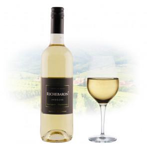 Vignerons Ardéchois - Richebaron Sauvignon - Chardonnay | French White Wine