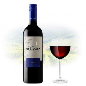 De Gras - Estate Merlot   Chilean Red Wine