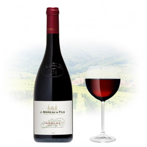 J Moreau & Fils - Merlot   French Red Wine