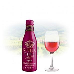 Stella Rosa - Pink Semi-Sweet 250ml Miniature   Italian Pink Wine
