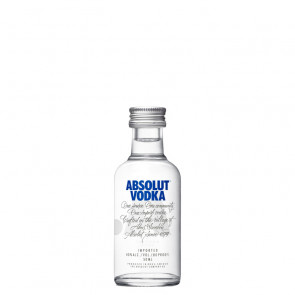 Absolut - Blue - 50ml Miniature | Swedish Vodka