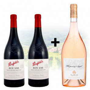 PROMO BUY 2 Penfolds - Bin 138 and GET 1 FREE 1.5L Chateau d'Esclans - Whispering Angel