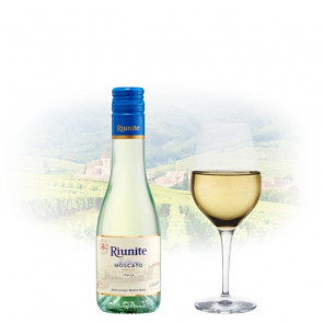 Riunite - Trebbiano Moscato - 187ml Miniature | Italian White Wine