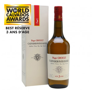 Roger Groult Calvados - 3 Year Old | French Apple Brandy