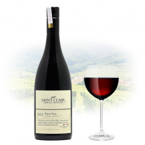 Saint Clair Omaka Reserve Pinot Noir 2015   Philippines Manila Wine