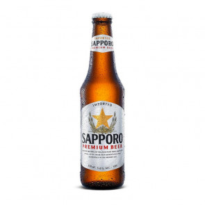 Sapporo Premium Beer - 330ml (Bottle) | Japan Beer