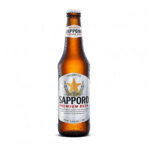 Sapporo Premium Beer - 330ml (Bottle) | Japan Beer