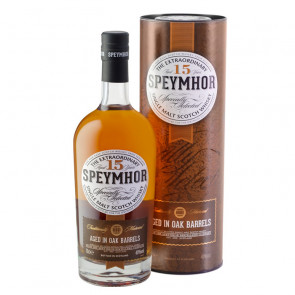 Speymhor 15 Year Old   Single Malt Scotch Whisky