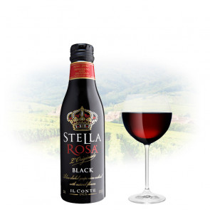 Stella Rosa - Black - 250ml Miniature | Italian Red wine