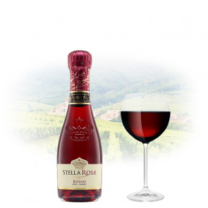 Stella Rosa - Rosso (Semi-Sweet) - 187ml Miniature | Italian Red Wine