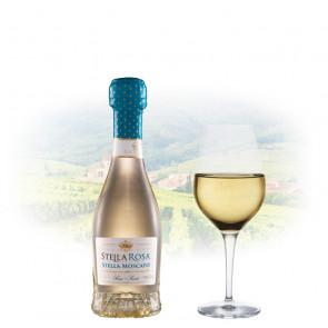 Stella Rosa Moscato (Semi Sweet) - Miniature (187ml) | Italian White Wine