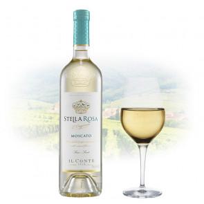 Stella Rosa Moscato (Semi Sweet)   Italian White Wine