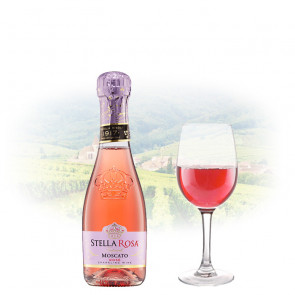Stella Rosa Rosé (Semi Sweet) - Miniature (187ml) | Italian Pink Wine