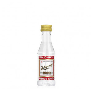 Stolichnaya - Premium Red - 50ml Miniature | Russian Vodka
