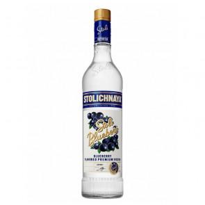 Stolichnaya - Stoli Blueberi - 750ml | Blueberry Russian Vodka