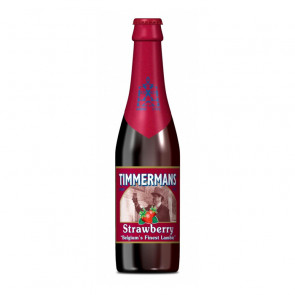 Timmermans Fraise (Strawberry) - 250ml (Bottle) | Belgium Beer