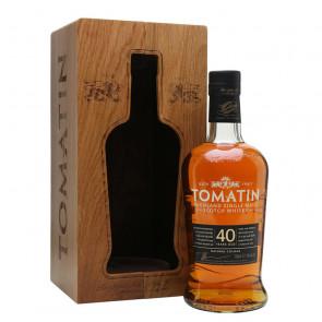 Tomatin 40 Year Old Rare Casks Single Malt Scotch Whisky | Philippines Manila Whisky