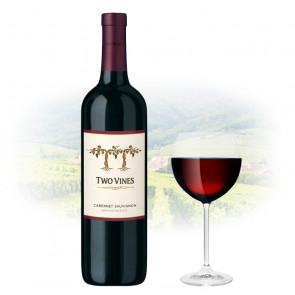 Two Vines - Cabernet Sauvignon   American Red Wine