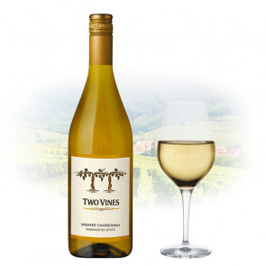 Two Vines - Unoaked Chardonnay | American White Wine