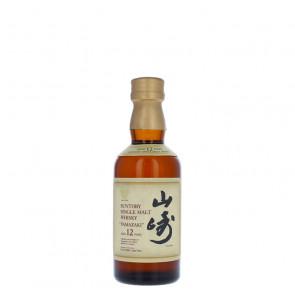 The Yamazaki 12 Year Old 5cl Miniature | Single Malt Japanese Whisky