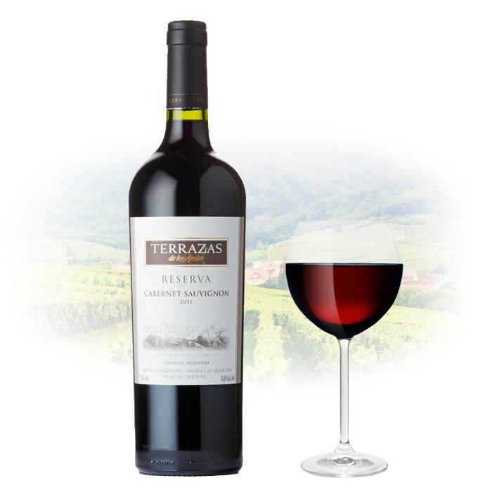 Terrazas De Los Andes Reserva Cabernet Sauvignon Argentina Wine