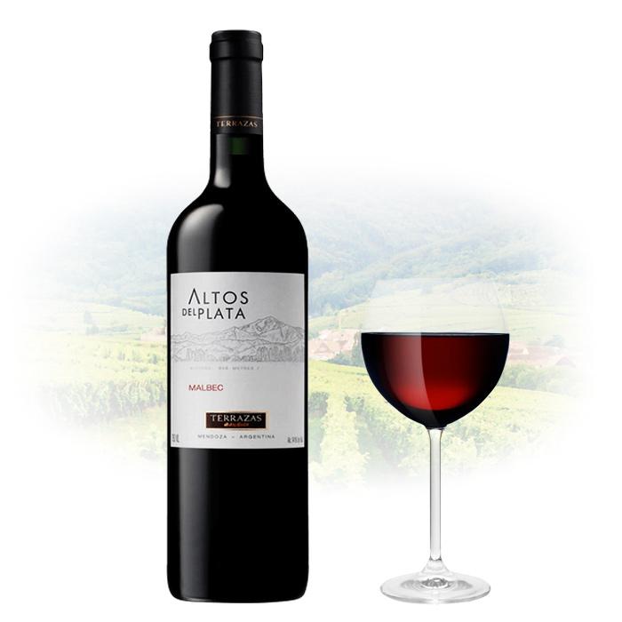 Terrazas De Los Andes Altos Del Plata Malbec Argentina Wine
