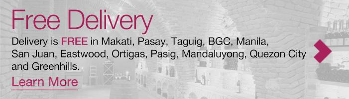 Free Delivery Manila Wine
