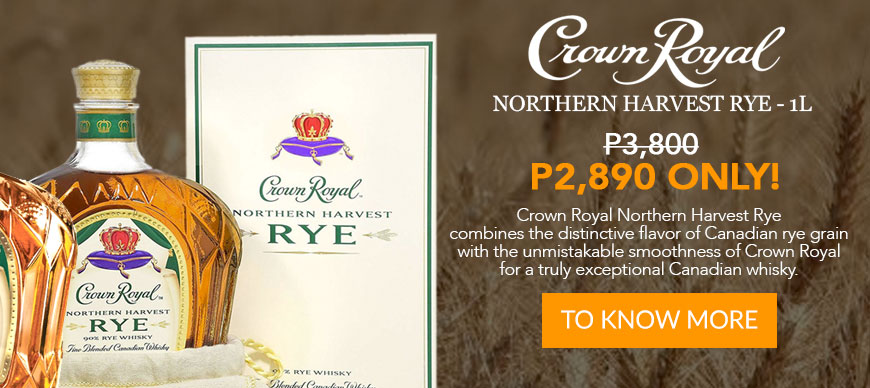Crown Royal - Northern Harvest Rye - 1L