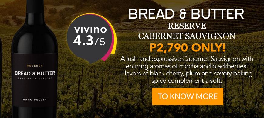 Bread & Butter - Reserve - Cabernet Sauvignon