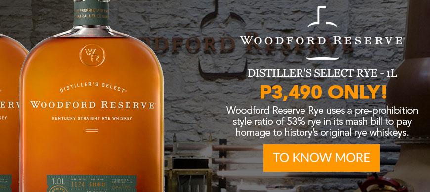 Woodford Reserve - Distiller's Select Rye - 1L