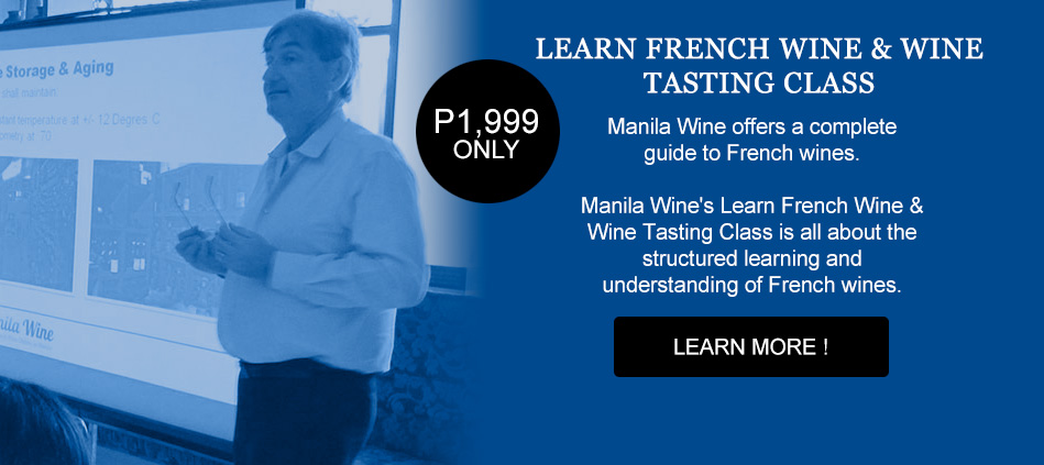 Learn French Wine & Wine Tasting Class
