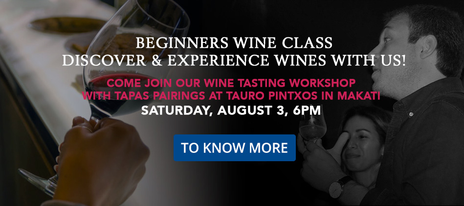 BEGINNERS WINE CLASS - DISCOVER & EXPERIENCE WINES WITH US!