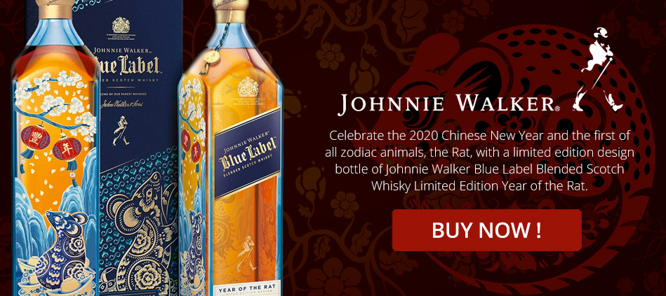 Johnnie Walker Blue Label - Year Of The Rat Limited Edition