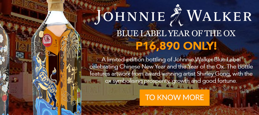 Johnnie Walker - Blue Label - Year Of The Ox Limited Edition